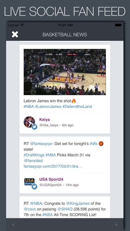 Live Basketball News & Predictions screenshot-4