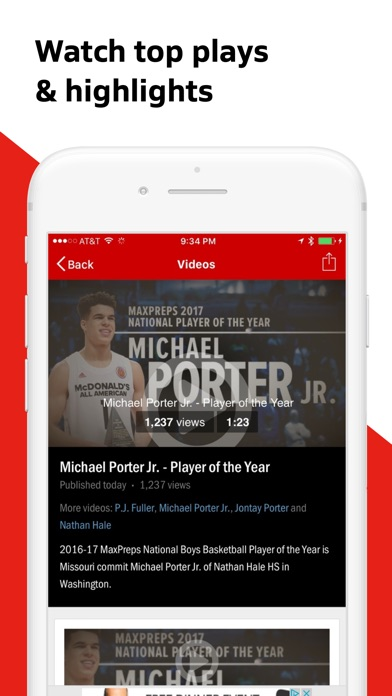 Screenshot for MaxPreps in United States App Store