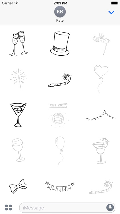 Animated Cute Party Stickers screenshot-3