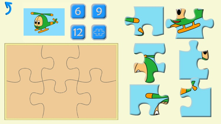 Kids Preschool Puzzles, learn shapes and numbers screenshot-4