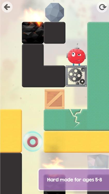 Thinkrolls - Logic and Physics Puzzles for Kids screenshot-4