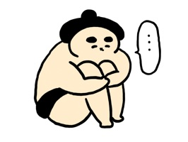 Japanese Traditional Sumo Sticker Ver2