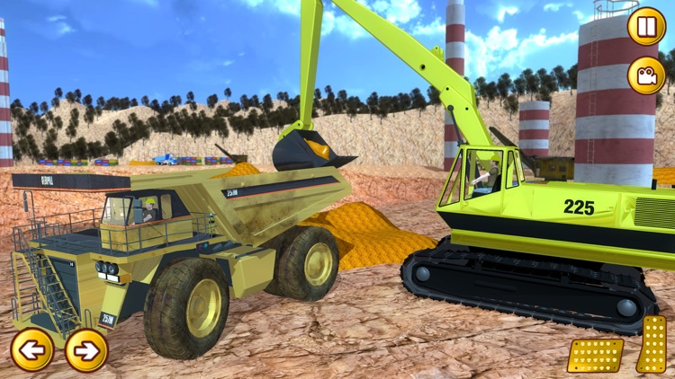 Gold Miner Real Rush Digger: Truck Drive 3D screenshot-3