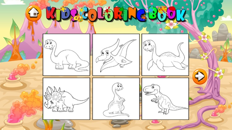 Coloring And Matching Game For Kids Education