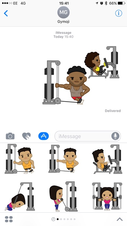Gymoji - Fitness Stickers by body360 screenshot-3