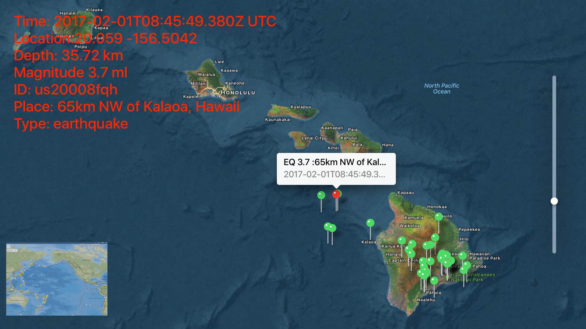 Instant USGS Earthquake Lite screenshot 14
