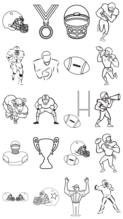 Seattle Seahawks - NFL American football teams logos coloring ... | 750x422