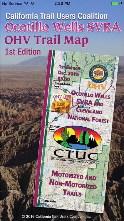 CTUC Ocotillo Wells SVRA