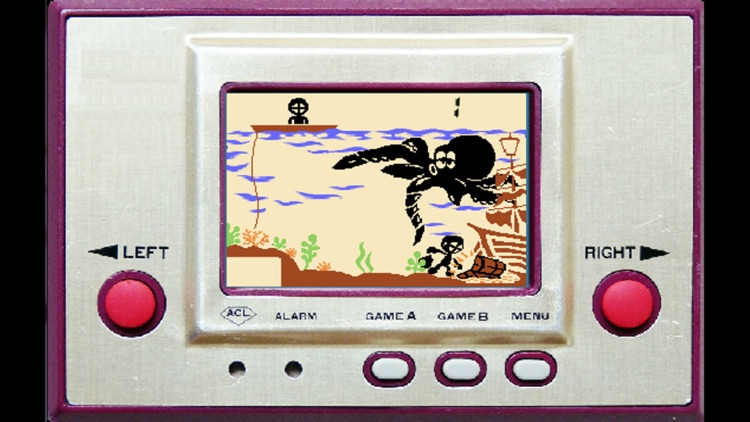 Octopus LCD Game