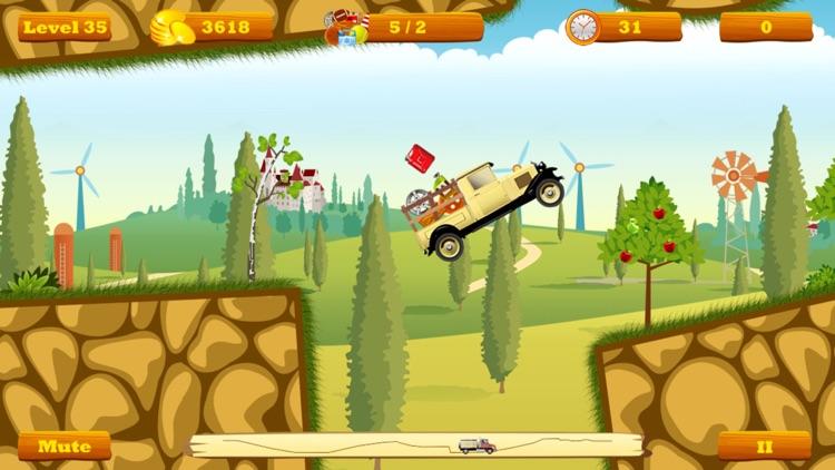 Truck Go Lite -- physics truck express racing game screenshot-4