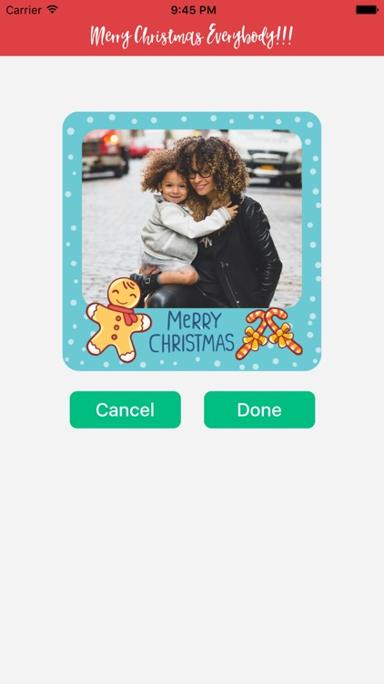 A Christmas Photo Greeting for iMessage Stickers screenshot-4