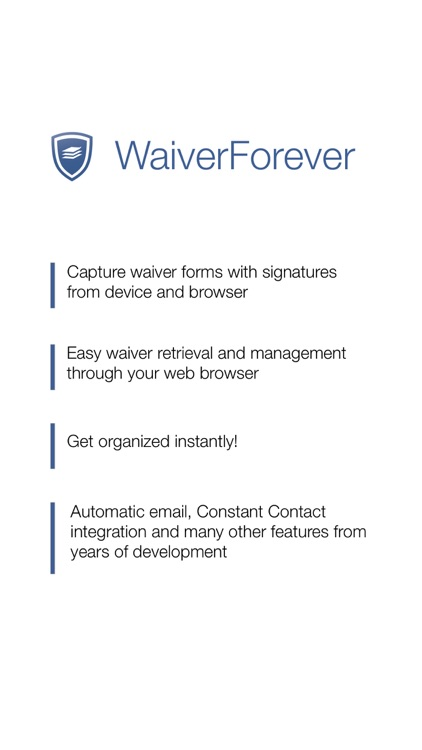 WaiverForever - The leading electronic waiver app screenshot-4