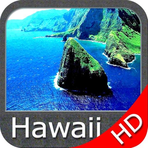 Marine : Hawaii HD - GPS Map Navigator