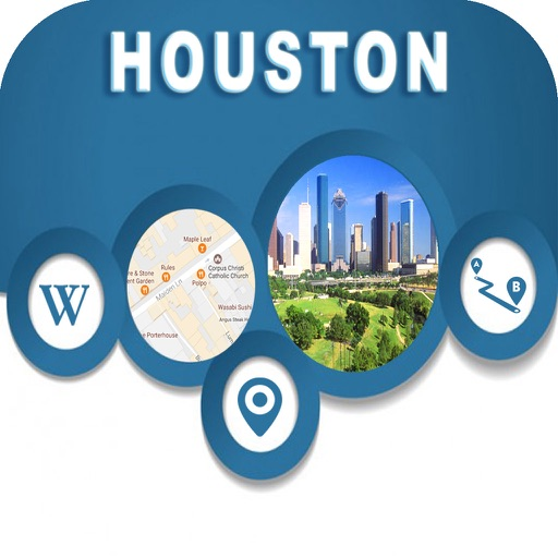 Houston TX  Offline City Maps Navigation