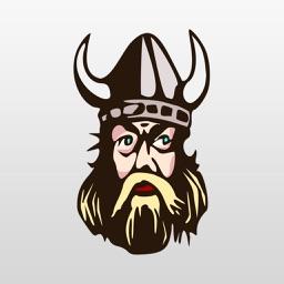 Viking Stickers : Not From Minnesota