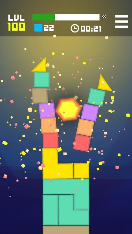 Hexagon Crush the Blocks screenshot-4