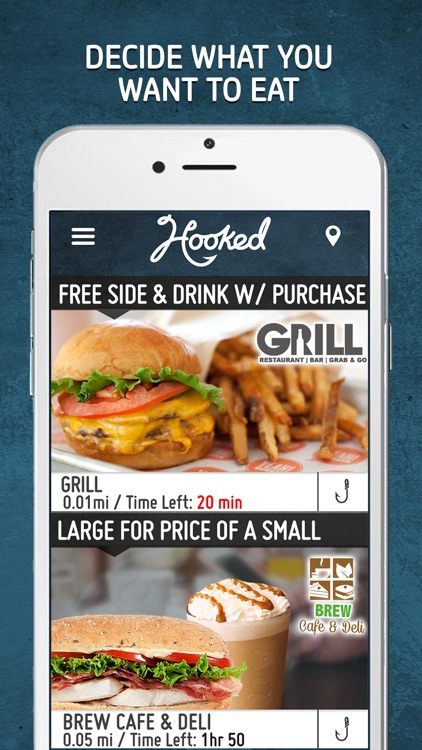 Hooked Deals screenshot-0