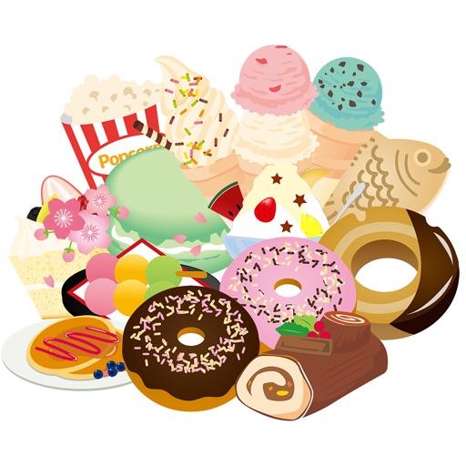 我想吃 貼紙的糖果