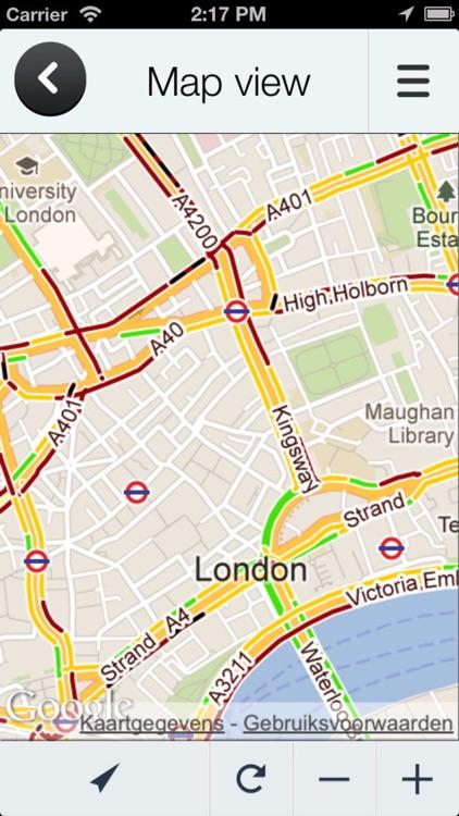 Road Information UK – Real Time Traffic Jams