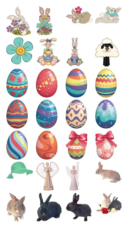 Easter Stickers #1 for iMessage screenshot-2