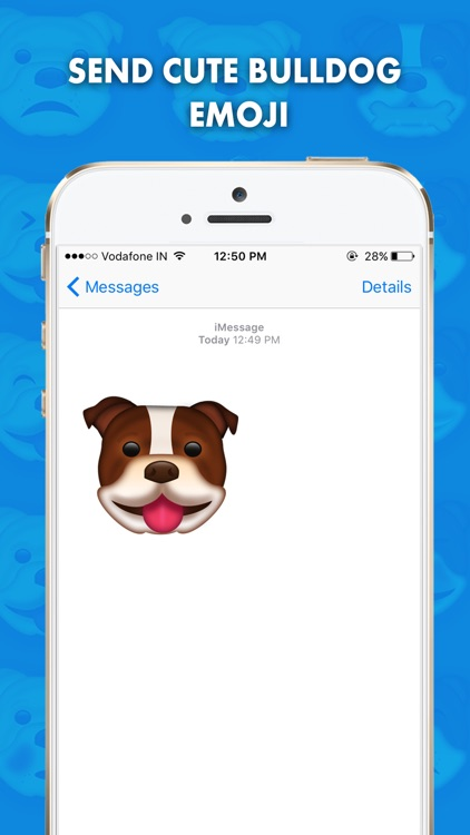 BullieMoji - Bulldog Emoji & Stickers screenshot-0