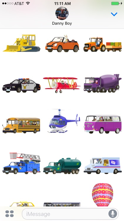 Big City Vehicles - Cars and Trucks Sticker Pack