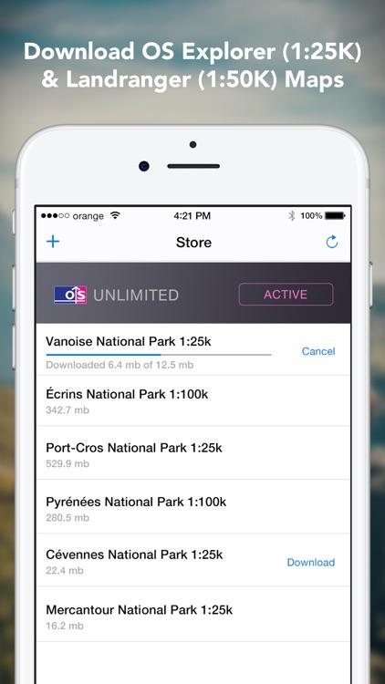Outdoors GPS – Offline OS Maps screenshot-3