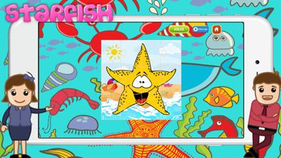 点击获取Preschool Fish Puzzles and Fun Baby Games for kids