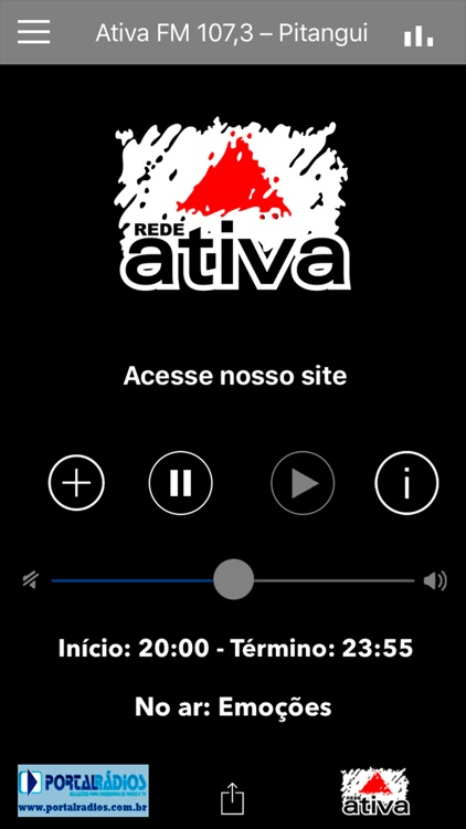 Ativa FM 107,3 – Pitangui app image