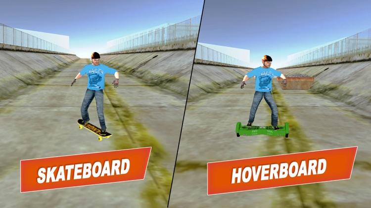 Extreme Hoverboard: Hover Bike Racing Sim HD screenshot-3