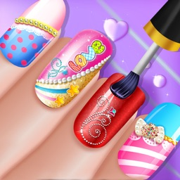 Fashion Beauty 3d Nail Art Salon