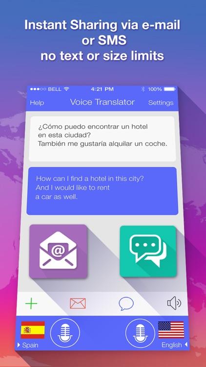 Voice Translate : translator screenshot-4