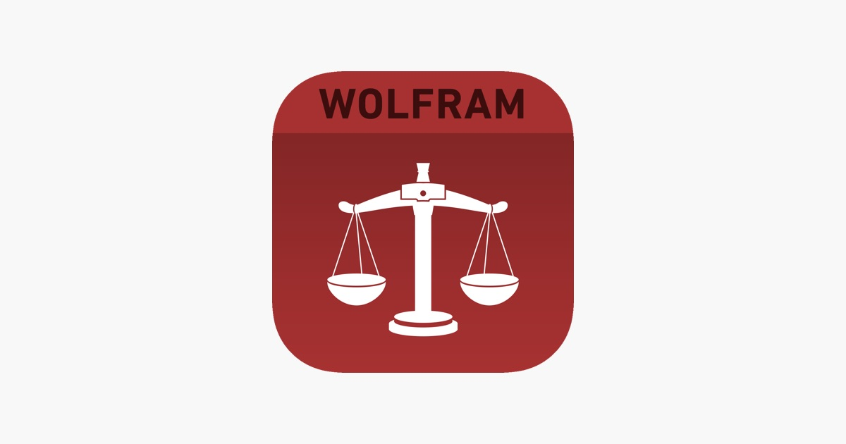 App Store Wolfram Lawyers Professional Assistant