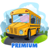 Oculist - Kids School Bus Adventure. Premium artwork