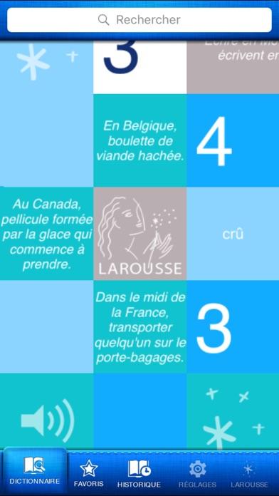 Dictionnaire de français screenshot1