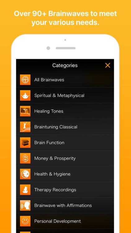 Brainwaves Binaural Beats - Anxiety Stress Healing screenshot-3