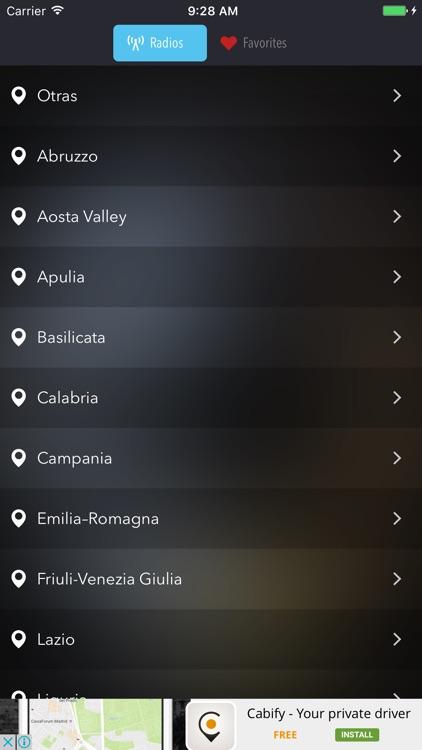 Radio italy - italian music stations AM & FM Live
