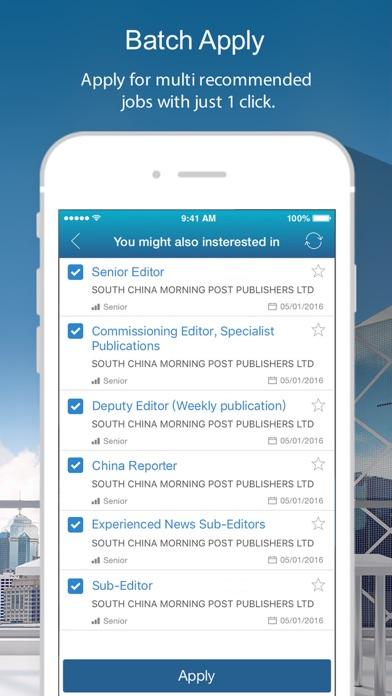 cpjobs - Hong Kong jobs screenshot four