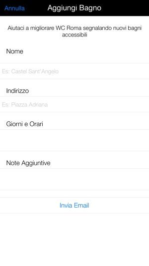 WC Roma su App Store