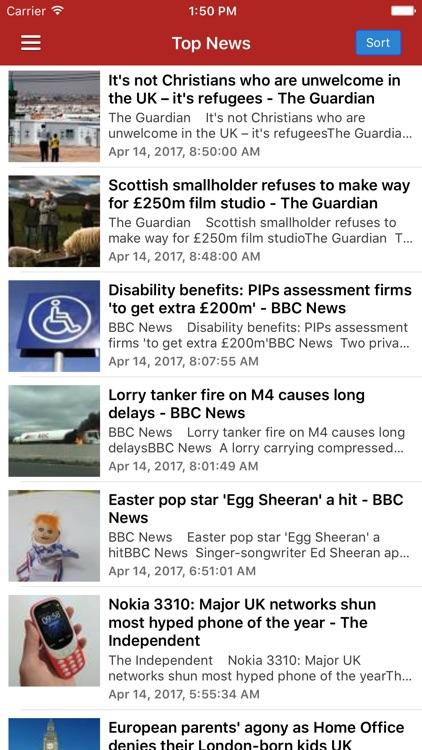 UK News Today & British Radio