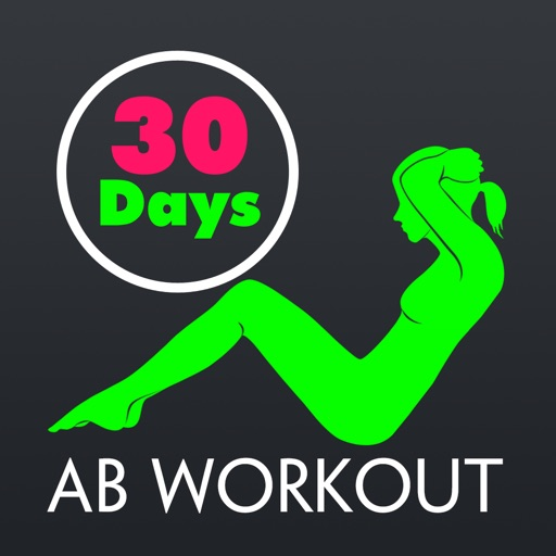 30 Day Ab Fitness Challenges ~ Daily Workout application logo