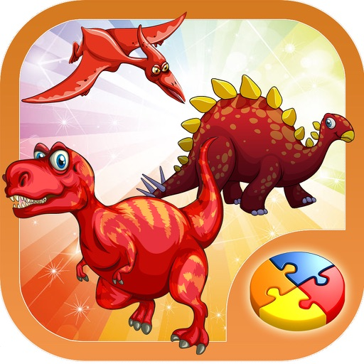 Dinosaur Jigsaw Puzzles for Kids, Toddlers & Boys iOS App