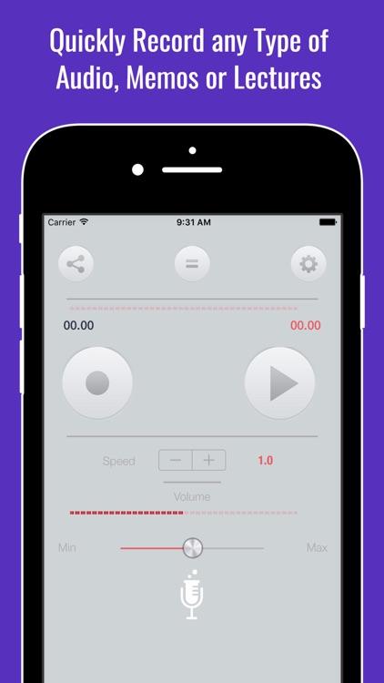 Audio Dictate Recorder & Digital Dictatning Tape
