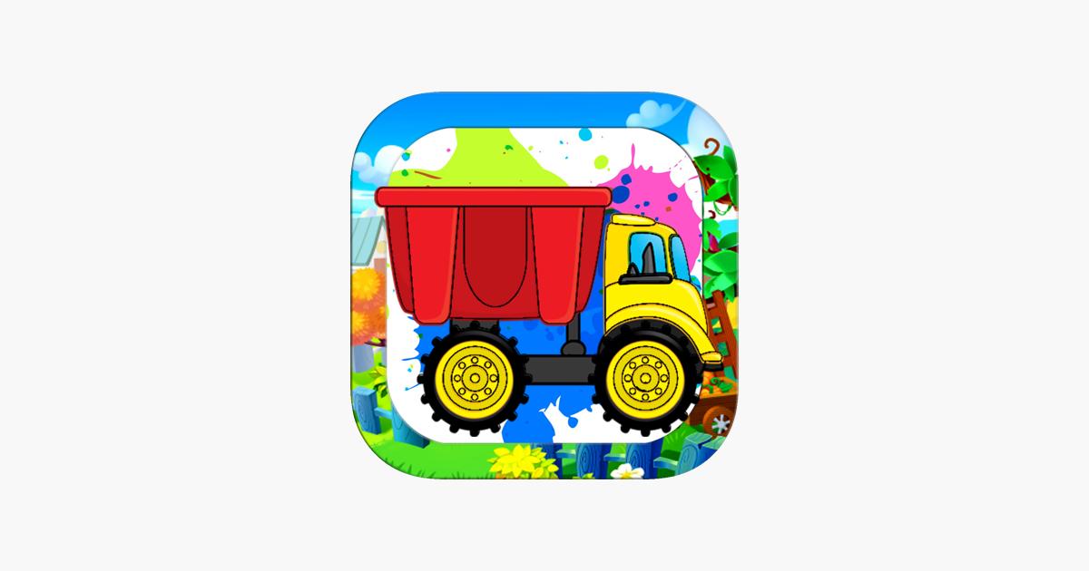 Araba Canavar Kamyon Boyama Kitabi Cocuklar Icin App Store Da