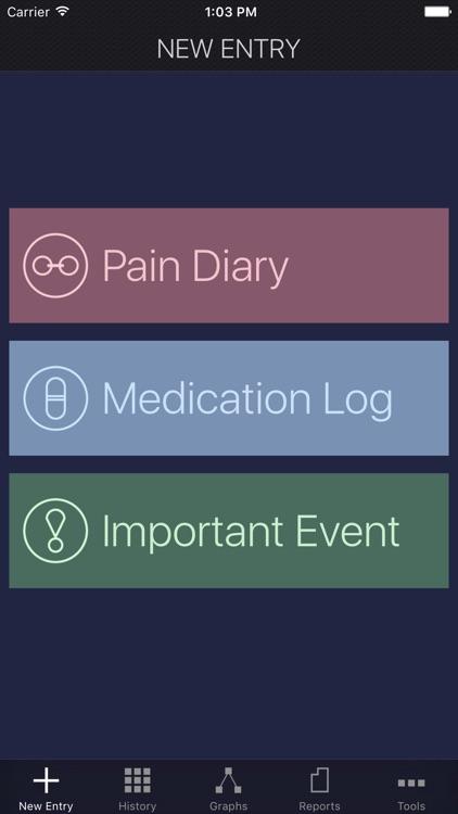 My Pain Diary & Symptom Tracker: Gold Edition