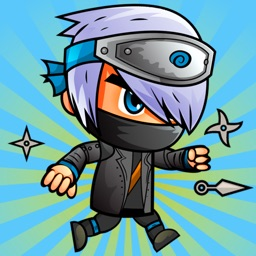 Ninja Go Run and Jump Adventure Dodge Bombs