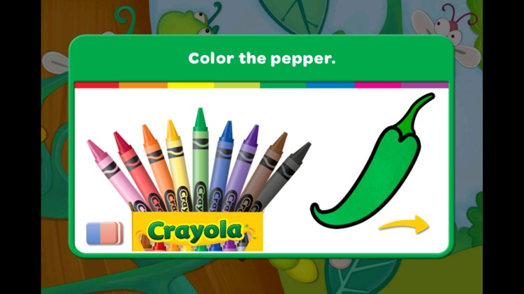 Crayola: Caterpillar's Colors screenshot-3