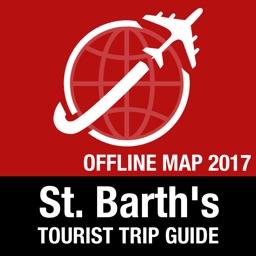 St. Barth's Tourist Guide + Offline Map