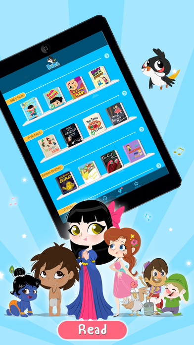 Bulbul-Stories,Rhymes for kids screenshot one