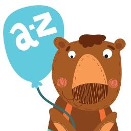 A-Z Cute Animals Alphabet